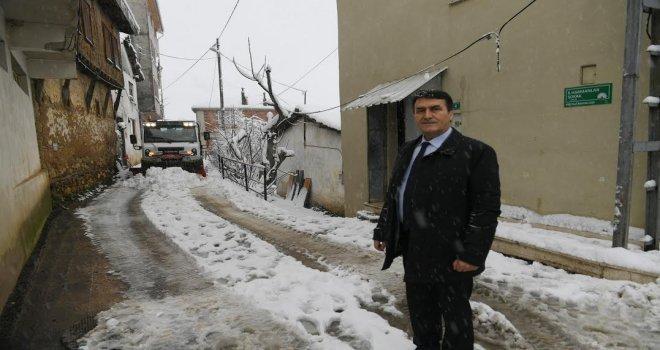 Köy Yollarına Anında Müdahale