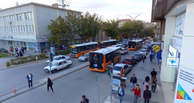Kırşehirde 28 Otobüs Ulaşım Master Planıyla Hizmet Veriyor