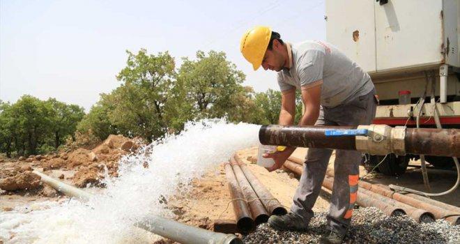 Büyükşehir DESKİ'den Gürpınar'a yeni su kaynağı