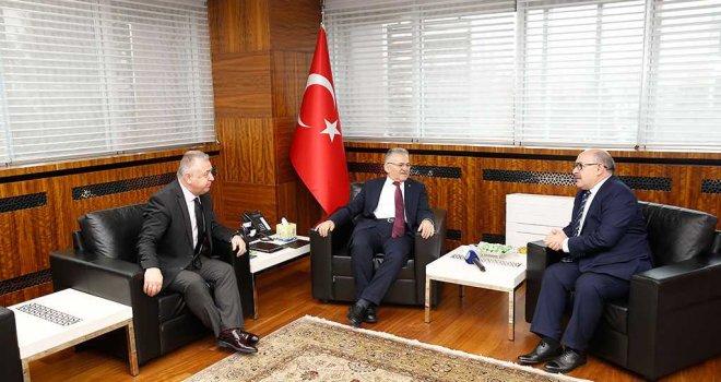 Başkan Büyükkılıç'a Yurt Dışından Fahri Doktora