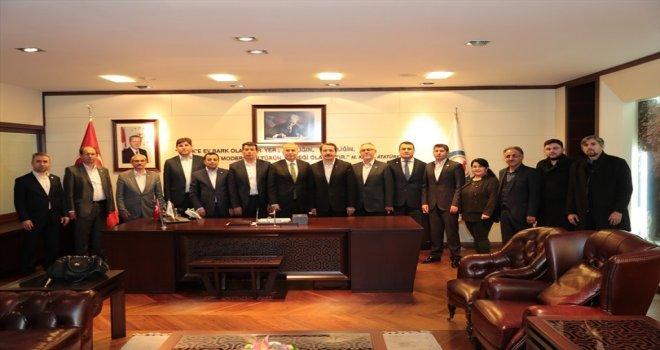 Memursenden Başkan Osman Zolana Ziyaret