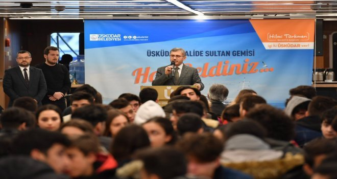 Şehit Okan Altıparmak Anadolu Lisesi Valide Sultan Gemisinde