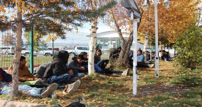 Kaçak Göçmenleri Ankara Diye Ardahana Bıraktılar