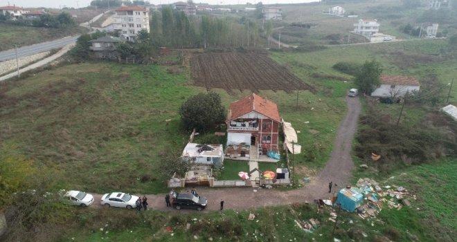 Kaşıkçının Arandığı O Villa Havadan Görüntülendi