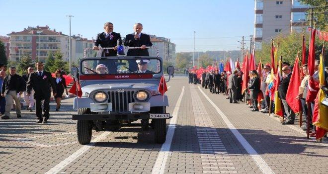 Cumhuriyetin 95İnci Yılı Bartında Törenle Kutlandı