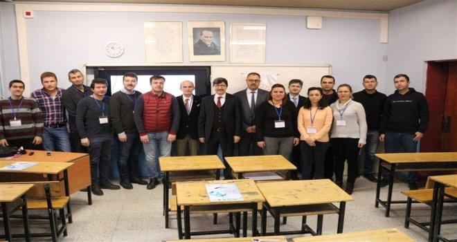 Afyon'da  Açık Uçlu Soru Hazırlama Kursuna Ziyaret