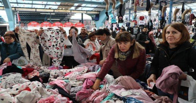Bulgar Akınına Uğrayan 'Sosyete Pazarı Esnafından İlginç Çözüm