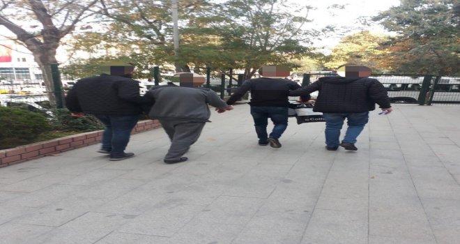 Edirnede Yakalanan 3 Kişi Cezaevine Kondu