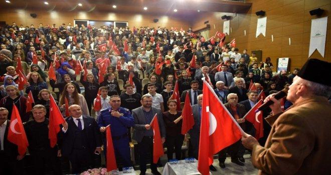 """Taşköprüde """"Buram Buram Çanakkale Destanı"""" Konferansı Düzenlendi"""