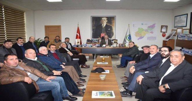 Çorlu Cem Vakfından Başkan Kadir Albayraka Ziyaret