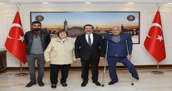 Başkan Atilla: Engelli Dostu Belediyecilik Yapıyoruz
