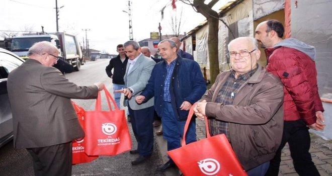 Başkan Albayrak İlçelerde Vatandaşlarla Buluştu
