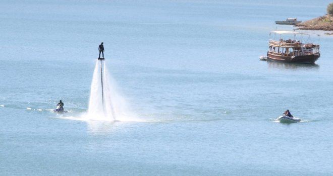 Tunceli, Türkiye Su Jeti Ve Flyboard Şampiyonasına Hazır