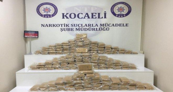 Kocaelide 1 Haftada 106 Kilogram Eroin Ele Geçirildi