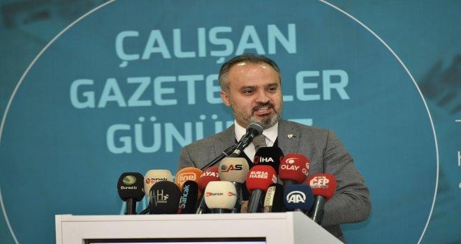 Başkan Aktaş :  Basın, Olmazsa Olmaz