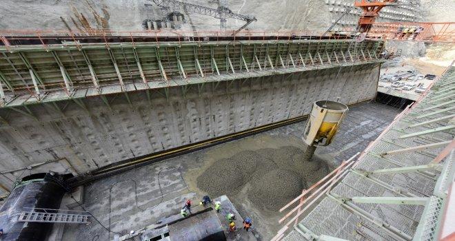 Türkiyenin En Yüksek Barajının Yapımı Sürüyor