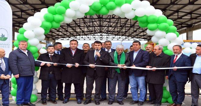 Bursanın İlk Katı Atık Getirme Merkezi Osmangaziden
