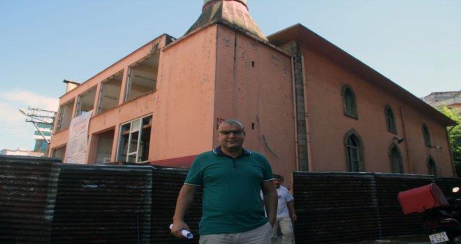 Giresunda Yeni Cami Yapımı İçin Eski Caminin Yıkımı Başladı
