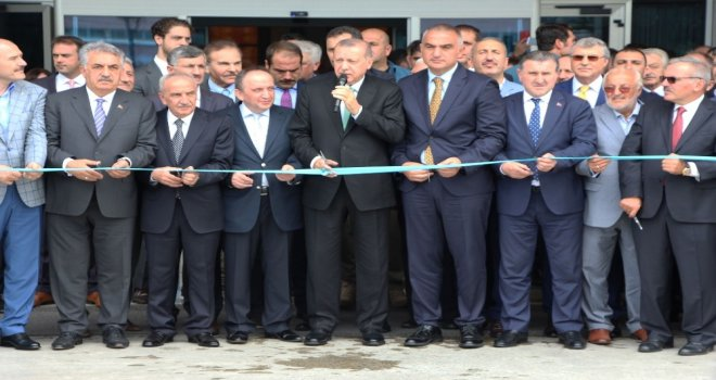 Cumhurbaşkanı Erdoğan Rizeden Ayrıldı
