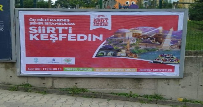 """İstanbulda """"5.geleneksel Siirt Tanıtım Günleri"""" Başlıyor"""
