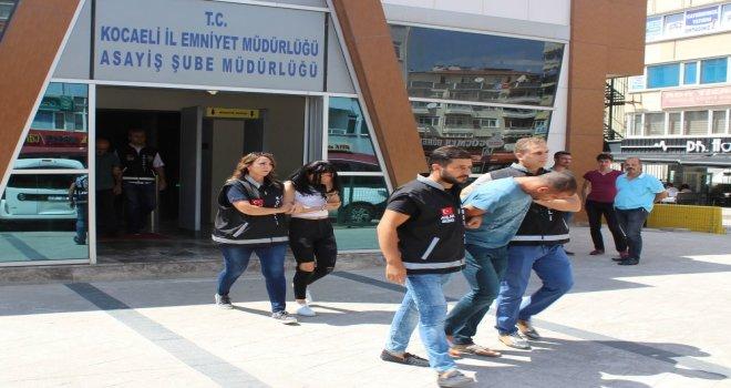 Vatandaşların İhbarı Fuhuş Çetesini Ele Verdi: 3 Gözaltı