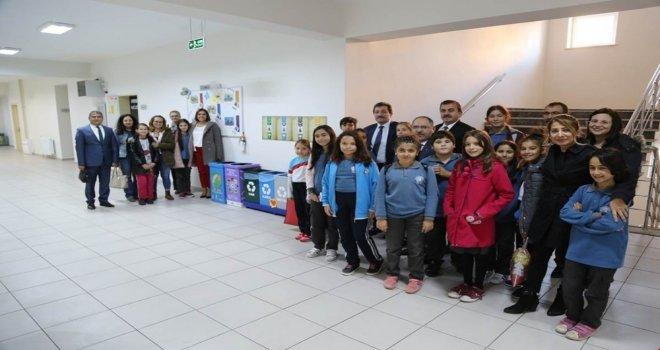 Turgut Reis Ortaokulu Sıfır Atık Projesiyle Fark Oluşturuyor