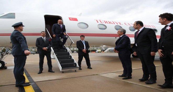 Dışişleri Bakanı Çavuşoğlu Londrada