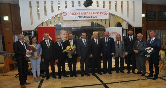 Başkent Ankara Meclisinden Arif Şayıka Üstün Hizmet Ve Başarı Ödülü