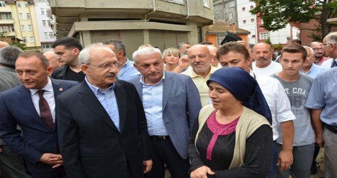 Kılıçdaroğlu, Fatsada Sel Bölgesinde