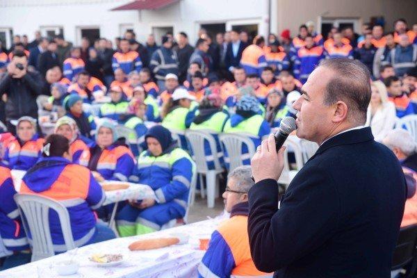 Başkan Sözlüden Temiz Adananın Özverili Çalışanlarına Teşekkür