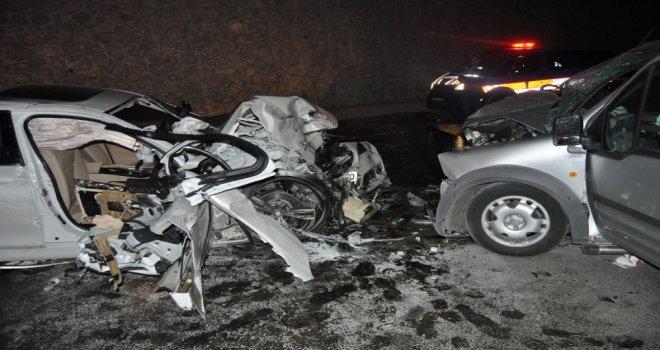 Bartında Trafik Kazası: 2 Ölü, 5 Yaralı