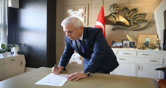Bozbey Doğa Dostu Belediye Başkanı Taahhütnamesini İmzaladı