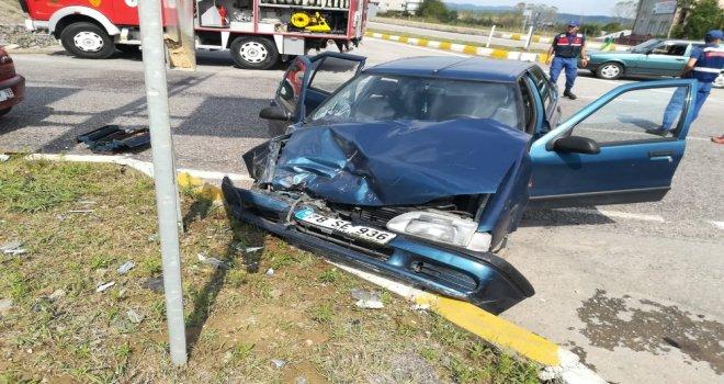 Zonguldakta Trafik Kazası: 7 Yaralı