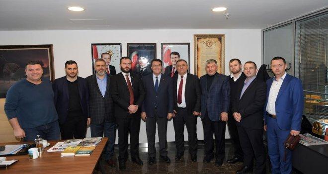 Sjenica Belediye Başkanı Mujovicten Dündara Ziyaret