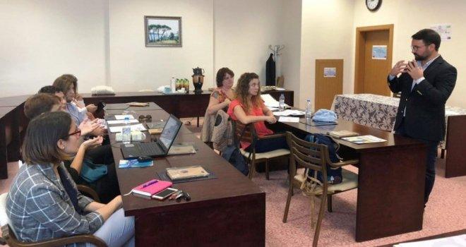 Dpüde Erasmus Toplantısı