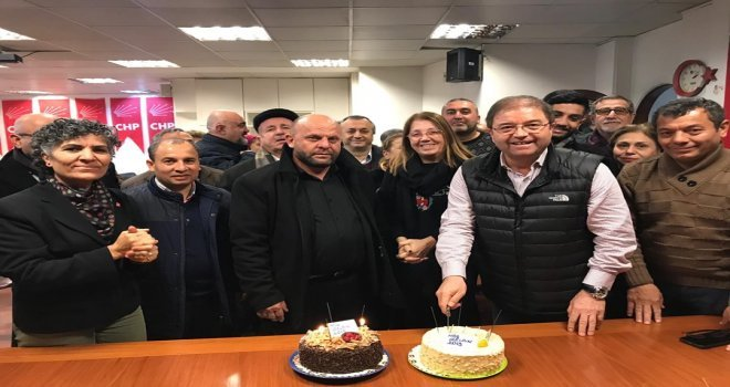 Başkan Kılıç Chp İlçe Örgütü İle Yeni Yılı Kutladı