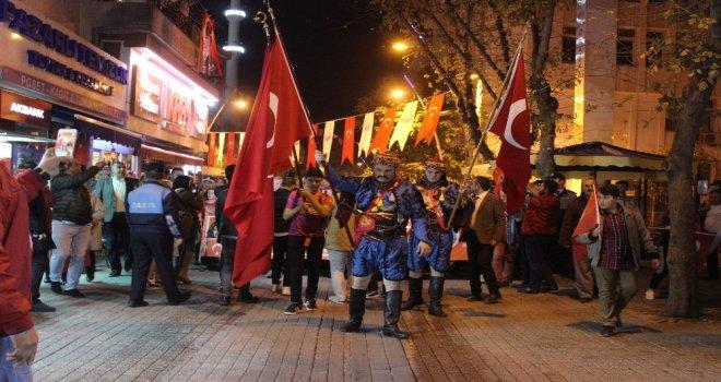 Büyükçekmecede Aleyna Tilki Şarkılarıyla 29 Ekim Coşkusu