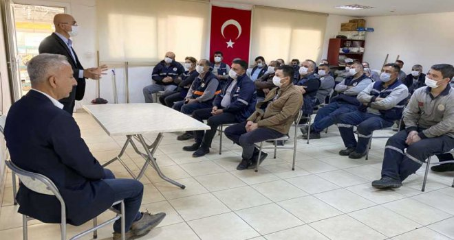 Belediye personeline yeni normalleşme semineri