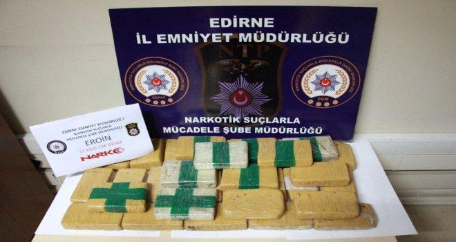 Yunanistan Sınırında Uyuşturucu Operasyonu