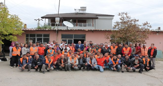 Başkan Ertürk, Belediye Çalışanları İle Kahvaltıda Buluştu