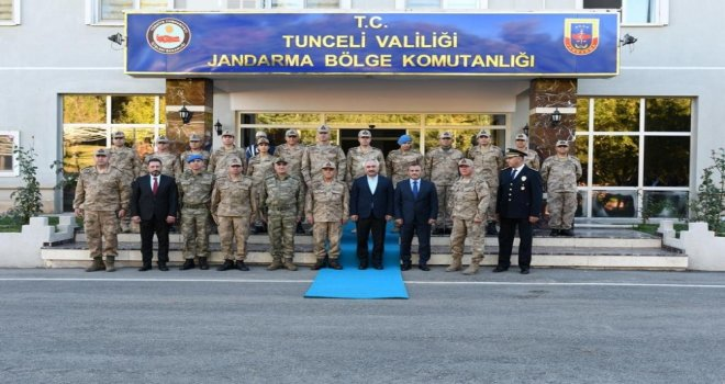 İçişleri Bakan Yardımcısı Ersoy Ve Orgeneral Çetin 2 Askerin Şehit Olduğu Bölgeye Gitti
