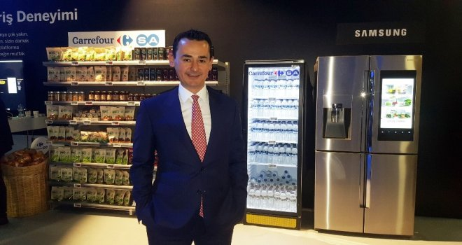 Dijital Ekranla Marketler Buzdolabına Taşınıyor