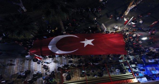 Bodrumda Coşkulu Cumhuriyet Bayramı