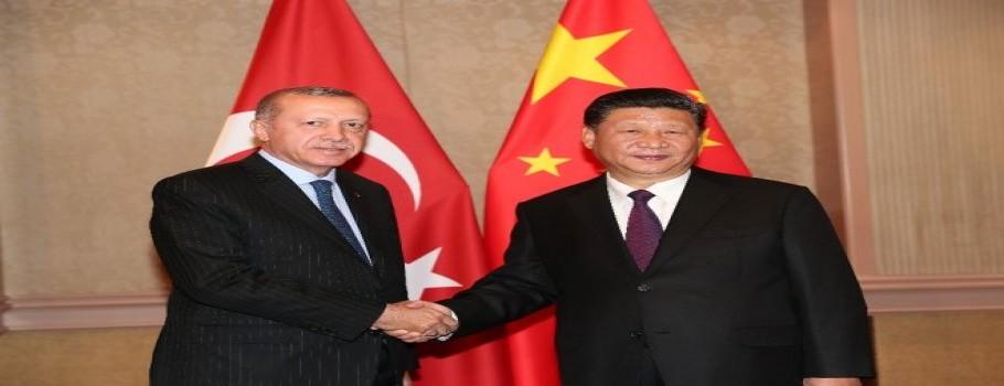 Cumhurbaşkanı Erdoğan,  Çin Devlet Başkanı Şi İle Görüştü