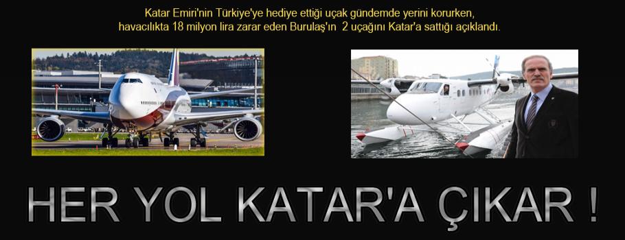Havacılık'ta her yol  Katar'a çıkar.