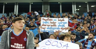 Spor Toto Süper Lig: Trabzonspor: 0 - Bb Erzurumspor: 0 (İlk Yarı)